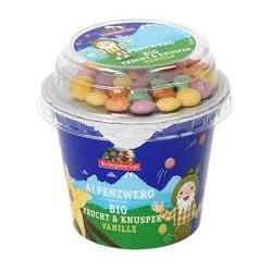 Bio jogurt vanilka dražé 137g