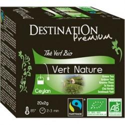 Zelený čaj Nature sáčkovaný...