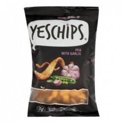 Chipsy hrachové s cesnakom...