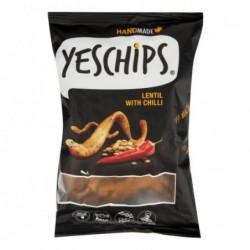 Chipsy šošovicové s chilli...